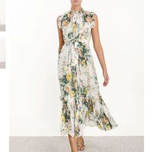 Zimmermann floral silk dress